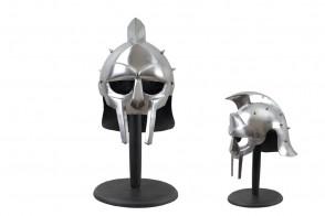 18 Gauge Steel Maximus Decimus Meridius Roman Spiked Helmet