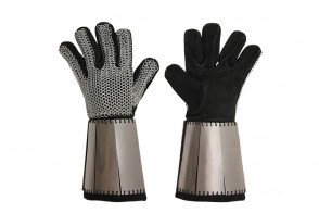 Pair of Stainless Steel Gloves ( SHIP FROM NEPTUNE - CA)