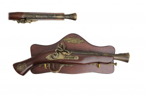 "15"" Antique Gun Replica w/ Display"