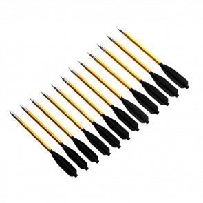 12 Piece Metal Bolts For Cross Bow Pack