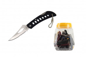 36 Piece Non Spring Assisted Pocket Knives Small In Jar