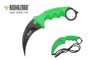 "7.5"" Zombie Neck Knife"
