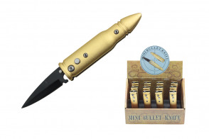 12-Piece mini bullet Knives w/ display box