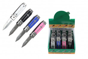 12-Piece Mini Automatic Knives w/ Display Box