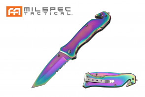 "8"" Titanium Coated Pocket Knife"