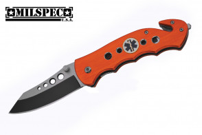"7.75"" Spring Assisted Rescue Knife"