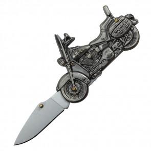 """6"""" POCKET KNIFE, 2.5"""" SILVER BLADE & HANDLE"""