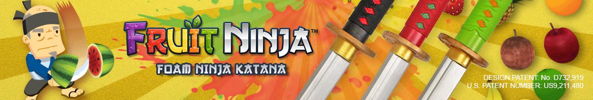 Fruit Ninja Foam Swords